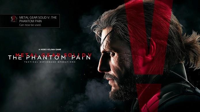 Metal Gear Solid V: The Phantom Pain, enfim, chegou aos consoles (Foto: Reprodução/Thiago Barros)