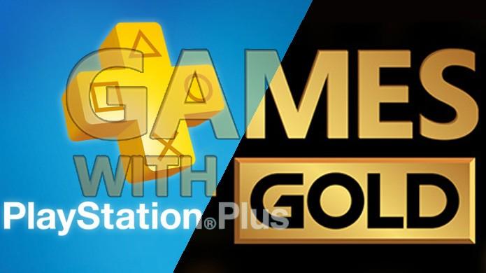 PlayStation Plus e Games with Gold oferecem games gratuitos, mas qual o melhor serviço? (Foto: Reprodução/PlayStation Universe e Xbox)