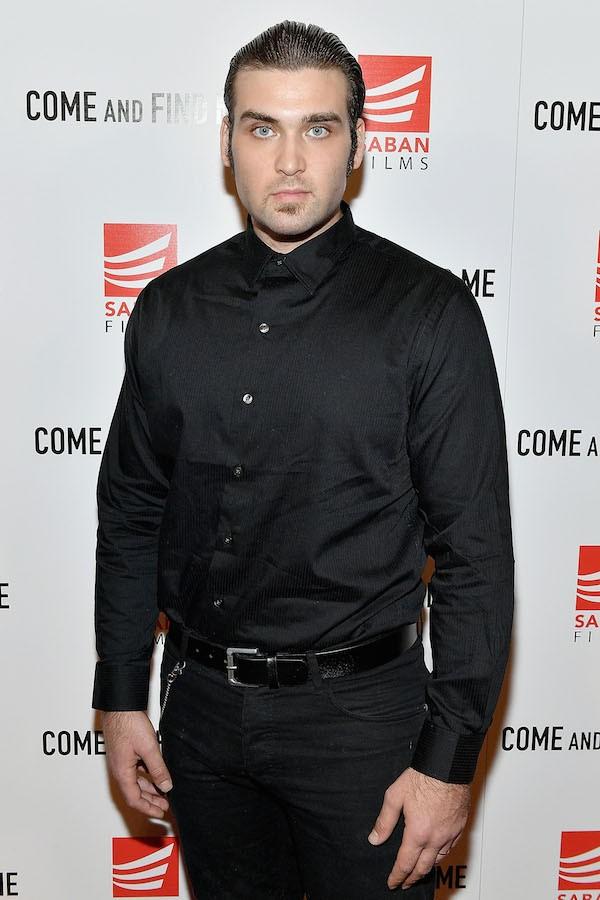 Weston Cage, filho do ator Nicolas Cage (Foto: Getty Images)