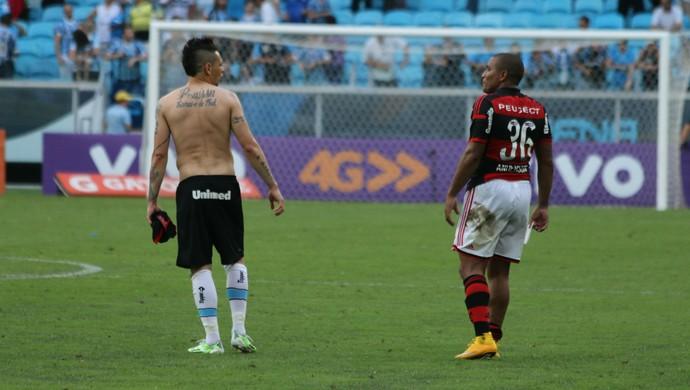 Pará e Anderson Pico (Foto: Diego Guichard)