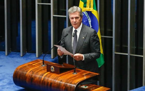 Senador Fernando Collor. (Foto: Sergio Lima/ Época)