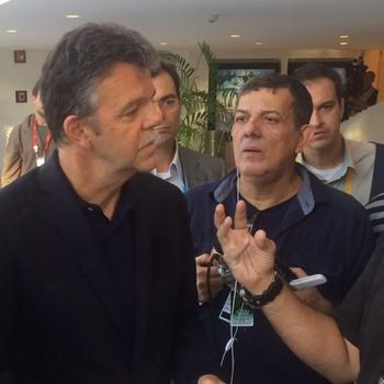 Gilmar Rinaldi na CBF (Foto: Martín Fernandez)