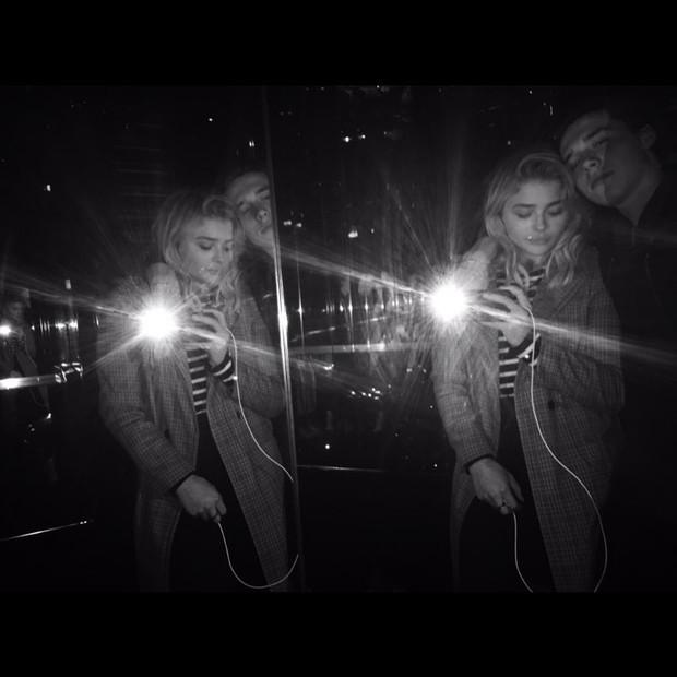 Chloe Moretz e Brooklyn Beckham (Foto: Reprodução / Instagram)