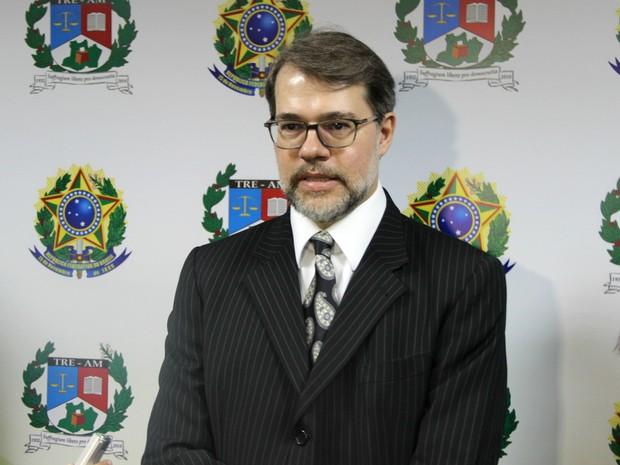 Em Manaus, presidente do TSE, ministro Dias Toffoli, comentou sobre corte de orçamento do Judiciário (Foto: Rickardo Marques/G1 AM)