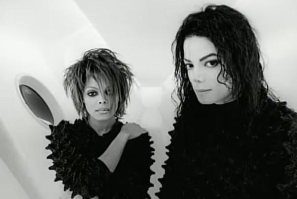 Janet Jackson e Michael Jackson (Foto: Reprodução)