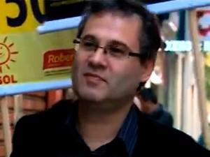 Roberto Robaina campanha - 21/8 (Foto: Reprodução/RBS TV)