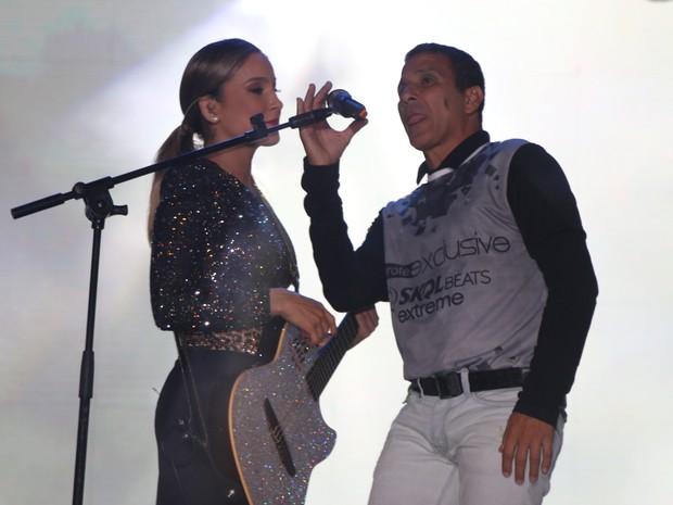 Claudia Leitte e Eri Johnson (Foto: Fred Pontes- Divulgação)