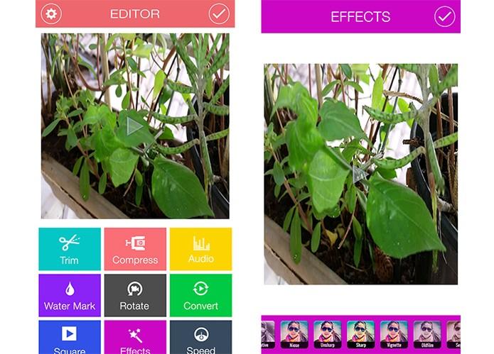 Video Editor aplica filtros em gravações curtas (Foto: Reprodução/Barbara Mannara)