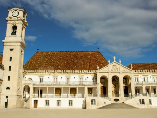 A Universidade de Coimbra, em Portugal, é um dos destinos dos estudantes contemplados pelo Ciência sem Fronteiras (Foto: Arquivo Pessoal/Paulo Batistella)