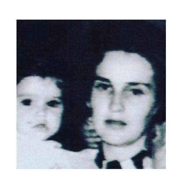 Madonna e sua mãe Madonna Louise Fortin (Foto: Reprodução Instagram)