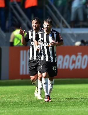 Palmeiras x Atlético-MG Fred Leandro Donizete (Foto: Marcos Ribolli)