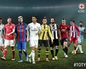 Com oito do Real Madrid, Uefa divulga  lista com candidatos à Equipe do Ano