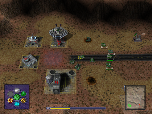screenshot de Warzone 2100 Portable