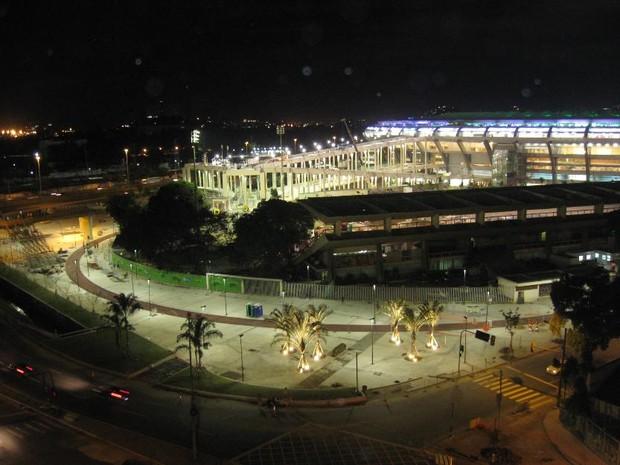 Aluguel de apartamento com vista para o Maracanã custa R$ 60 mil  (Foto: Divulgação/ Ana Raquel )