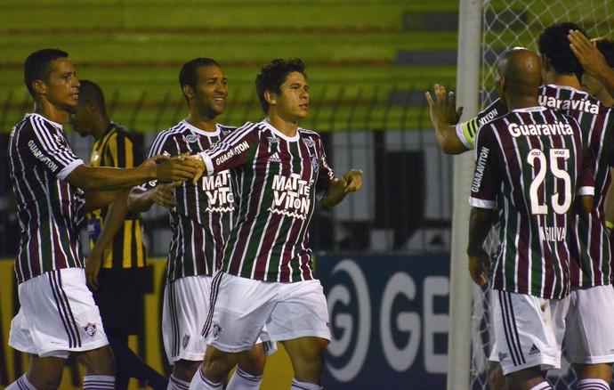 Osvaldo - Fluminense x Tigres (Foto: Mailson Santana / Fluminense FC)