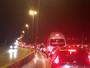 Obras de recapeamento complicam o trânsito no Anel Rodoviário de BH
