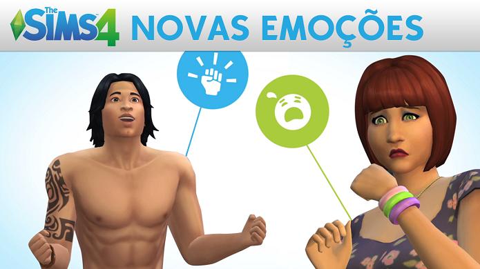 The Sims 4 trará diversas emoções que podem ser controladas pelo jogador. (Foto: Divulgação)