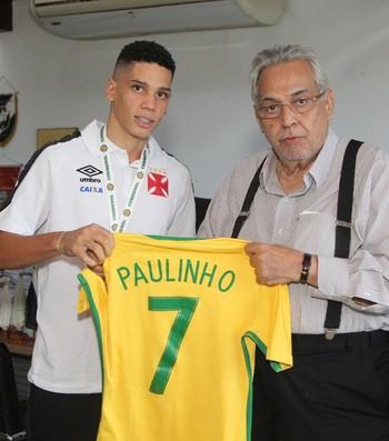 Paulinho Vasco Eurico Miranda (Foto: Paulo Fernandes / Vasco)