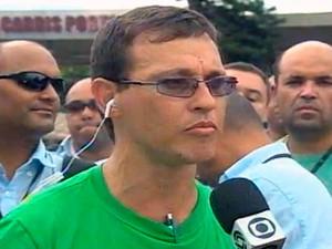 Alceu Weber diz que piquetes são 'falácias plantadas' (Foto: Reprodução/RBS TV)