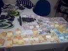 Três homens e uma mulher são detidos com produtos de roubo