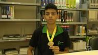 Santareno é o único paraense com medalha de ouro na Obmep 2016