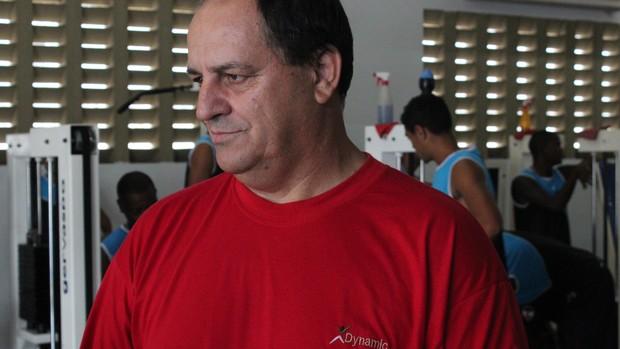 Edson Porto, treinador do River-PI (Foto: Josiel Martins)