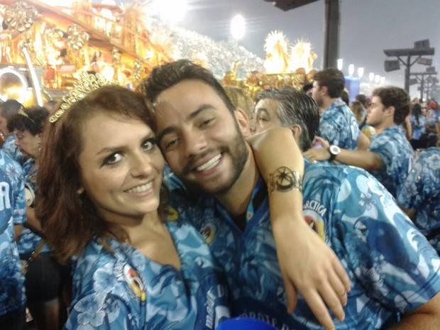 Monica Iozzi e Tomate (Foto: Facebook / Reprodução)