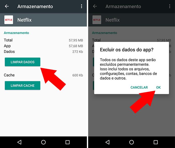 Limpe os dados do app (Foto: Reprodução/Paulo Alves)