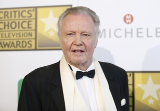 Jon Voight no Critics' Choice Television Awards em Los Angeles, nos Estados Unidos (Foto: Danny Moloshok/ Reuters)