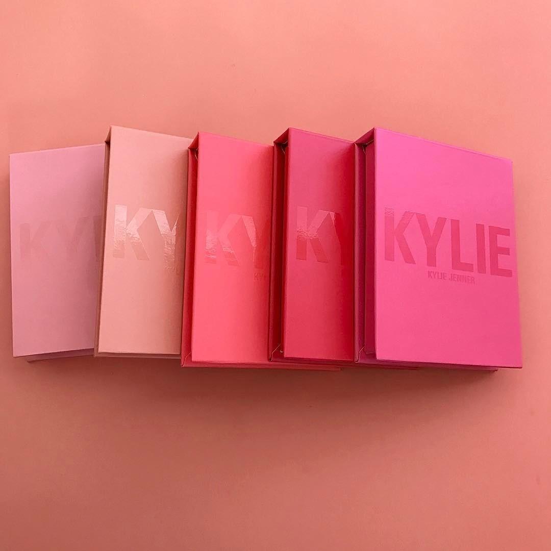Linha de blushes da Kylie Cosmetics  (Foto: reprodurção/ Instagram)