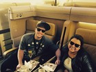 Depois de lua de mel, Preta Gil e Rodrigo Godoy voltam para o Brasil