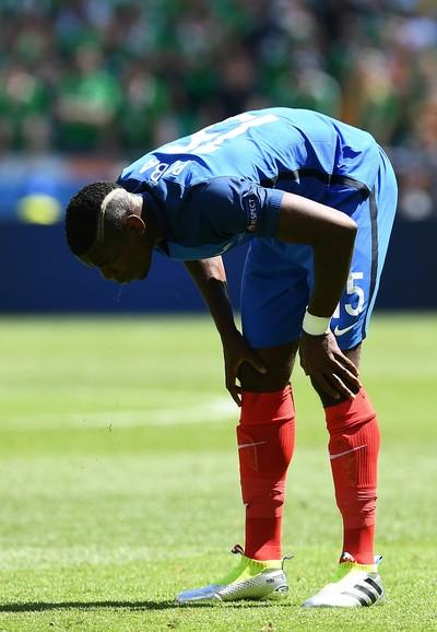Pogba França x Irlanda Eurocopa (Foto: AFP)
