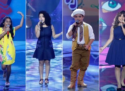 Seis participantes avançam para a semifinal no 'The Voice Kids'; reveja as apresentações