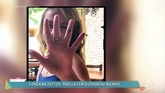 Paolla Oliveira fala sobre significado de tatuagem na mão