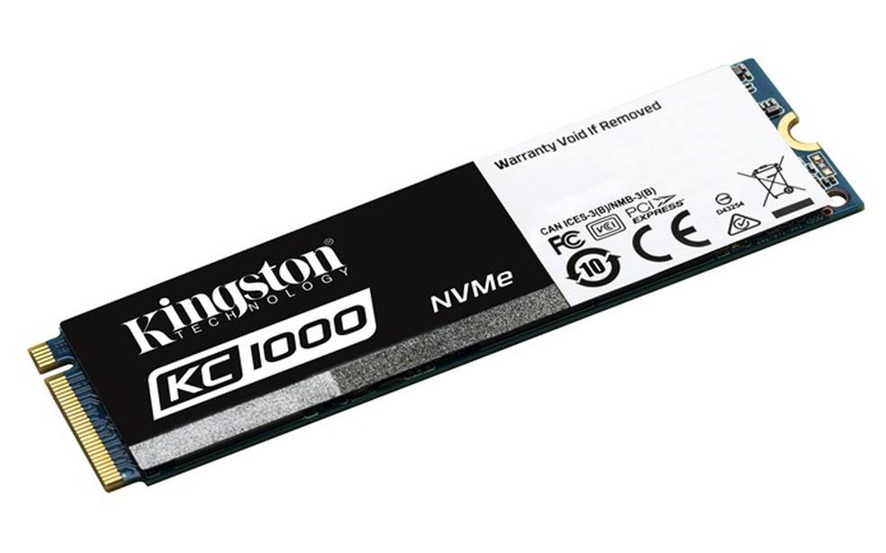 KC1000 promete maior velocidade no carregamento de arquivos pesados (Foto: Divulgação/Kingston) (Foto: Kingston)