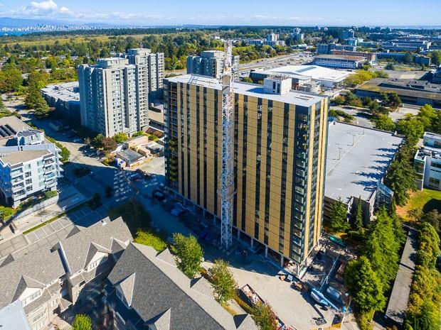Maior arranha-céu de madeira do mundo é inaugurado em Vancouver (Foto: Divulgação)