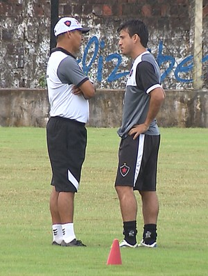 Ramiro Souza, Rone Dias, Botafogo-PB (Foto: Reprodução / TV Cabo Branco)