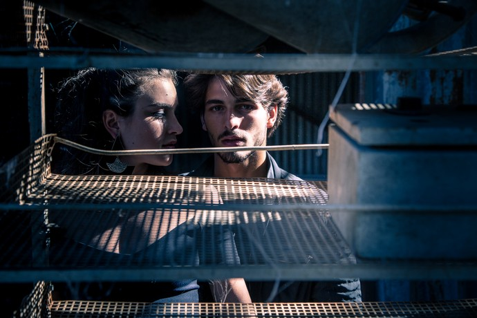 Marcela Fetter e Brenno Leone posam para as lentes (Foto: Fabiano Battaglin/Gshow)