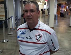 Washington Luis Scarpati, presidente do Aracruz (Foto: Eduardo Dias/Globoesporte.com)