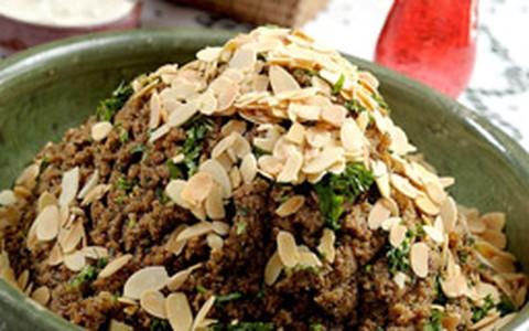 Salada de tâmara com coalhada
