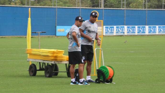 170bbe83ab Roger Machado Grêmio (Foto  Eduardo Moura GloboEsporte.com)
