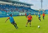 Papão encerra preparação para jogo contra Goiás com torcida presente