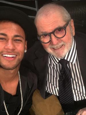 neymar jô soares instagram redes sociais futebol (Foto: Reprodução/Instagram)