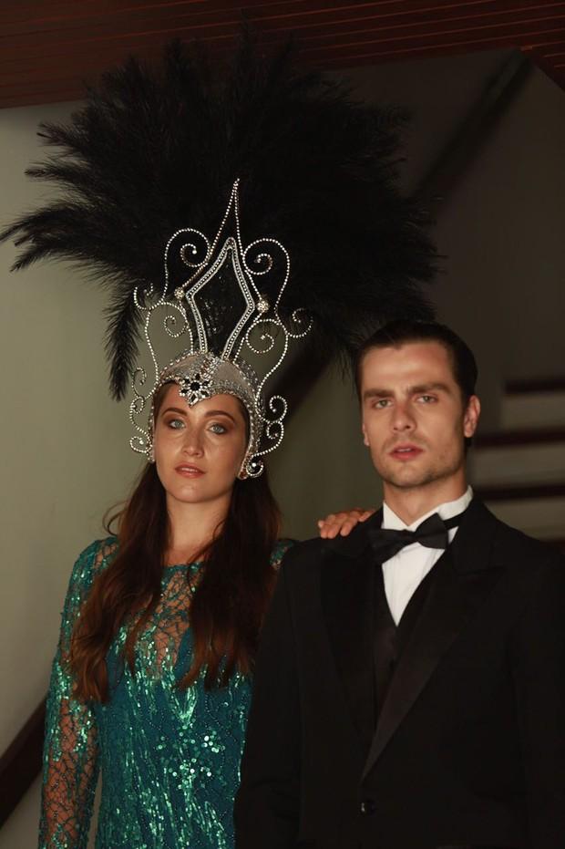 Paulo Dalagnoli e Samia Abreu (Foto: Assessoria / Divulgação)