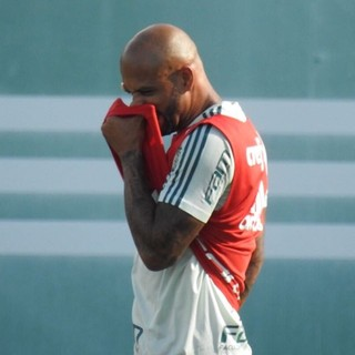 Felipe Melo Palmeiras (Foto: Tossiro Neto)