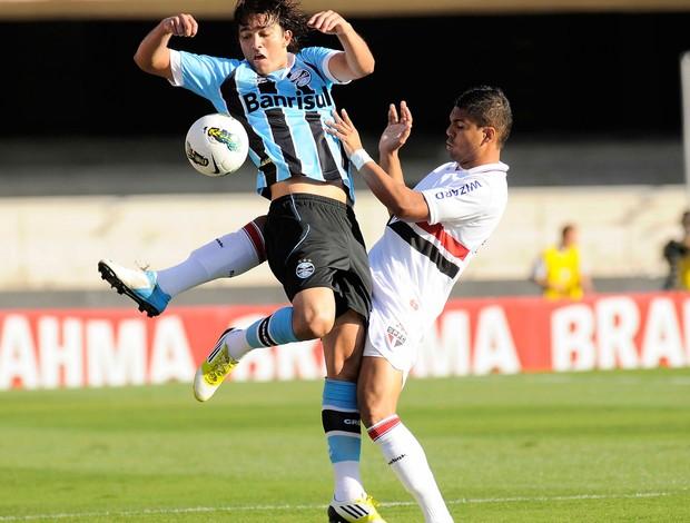 Marcelo Moreno Grêmio Casemiro São Paulo (Foto: Dorival Rosa / Vipcomm)