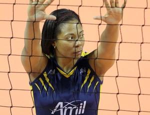 Daymi Ramires - cubana do vôlei feminino de Campinas (Foto: Felipe Christ/Amil/Divulgação)