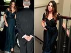 Kate Middleton usa joia da rainha e repete vestido em evento de gala