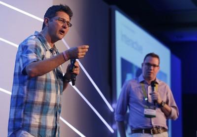 Brian Dyches (à esquerda) e Bryan Meszaros (Foto: Keiny Andrade/Divulgação)