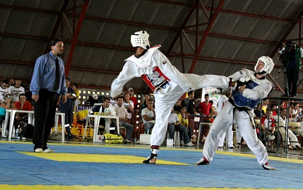 Taekwondo do Amazonas (Foto: Frank Cunha/GLOBOESPORTE.COM)